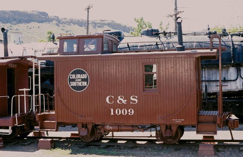 C S Narrow Gauge Bobber Caboose 1009ps By Captain Railroad