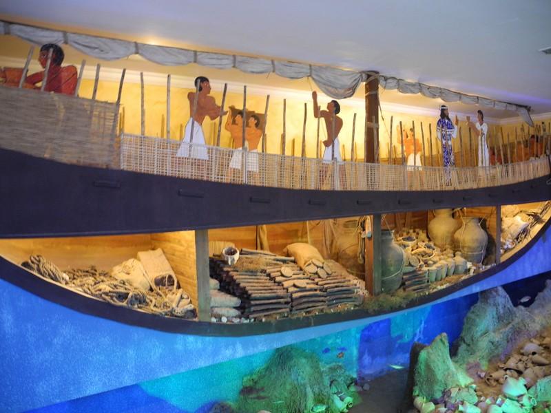 Uluburun Shipwreck Exhibit Nautical Archaeology Museum B