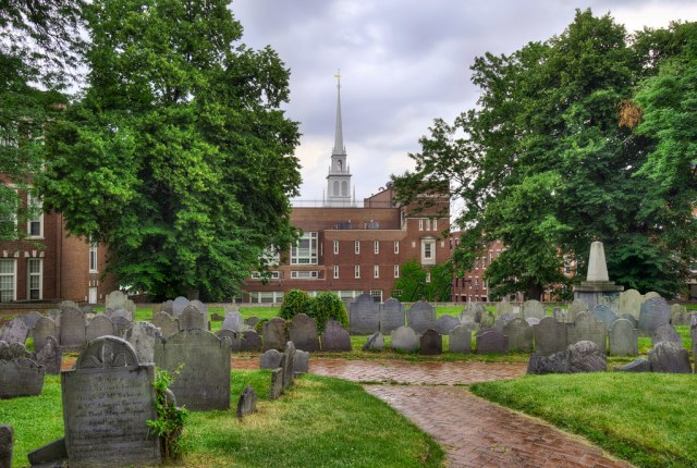 Resultado de imagen de copps hill burying ground boston