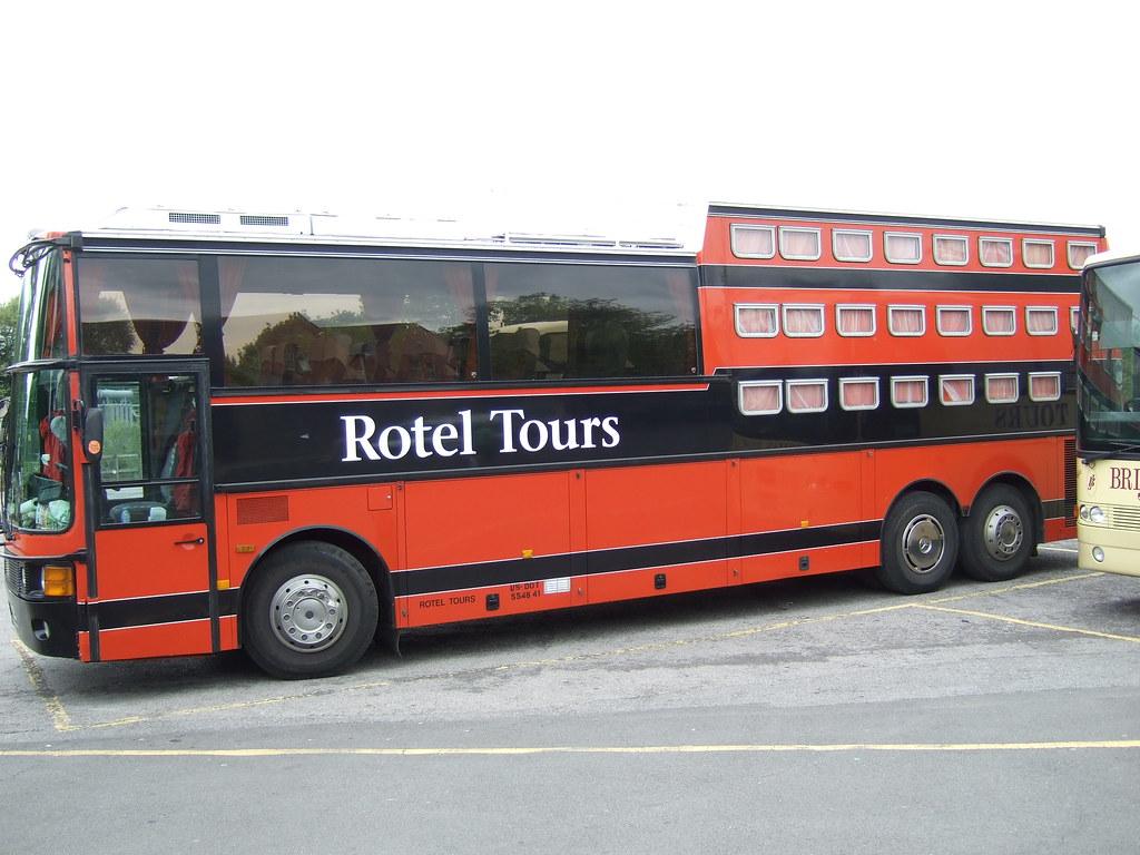 Rotel Tours Bus Interior