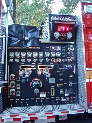 Fire Truck Pump Control Panel | Guess what? If you turn