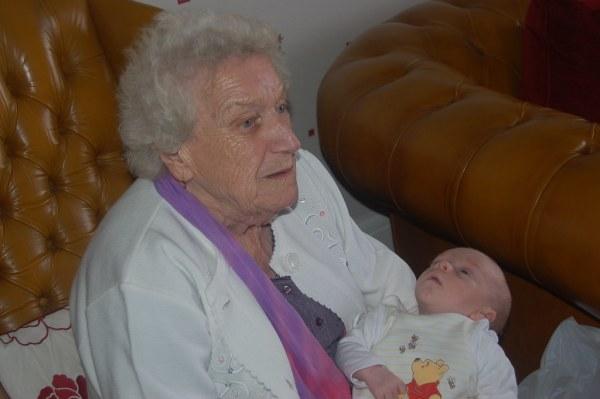 Alex & Great-Grandma | David Green | Flickr