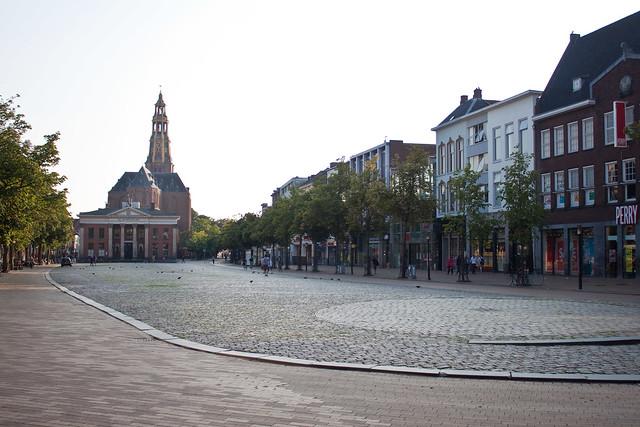 Empty Vismarkt