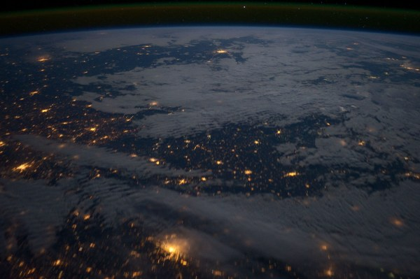 Eastern Europe at Night (NASA, International Space Station ...