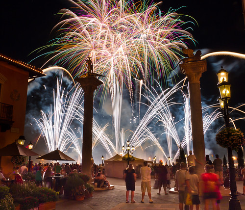 Epcot - Exploding Italy