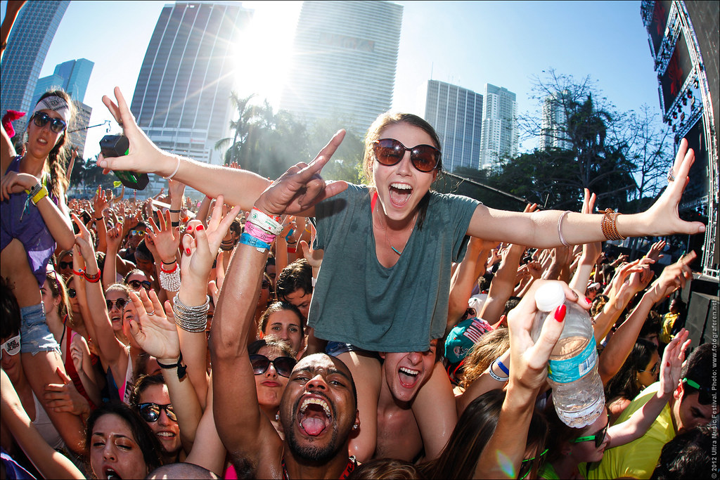 56 Best Crowd In The World At Ultra Music Festival 2012