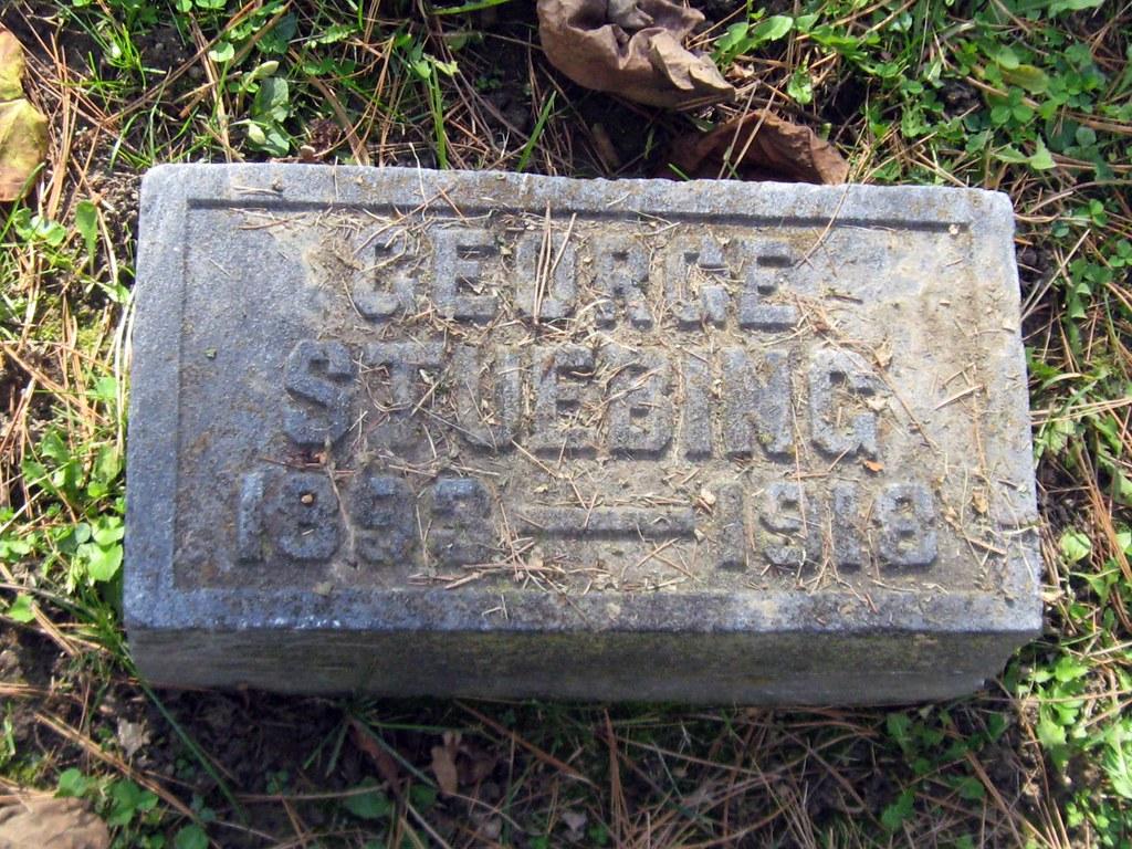George Stuebing Victim Of Influenza Pandemic