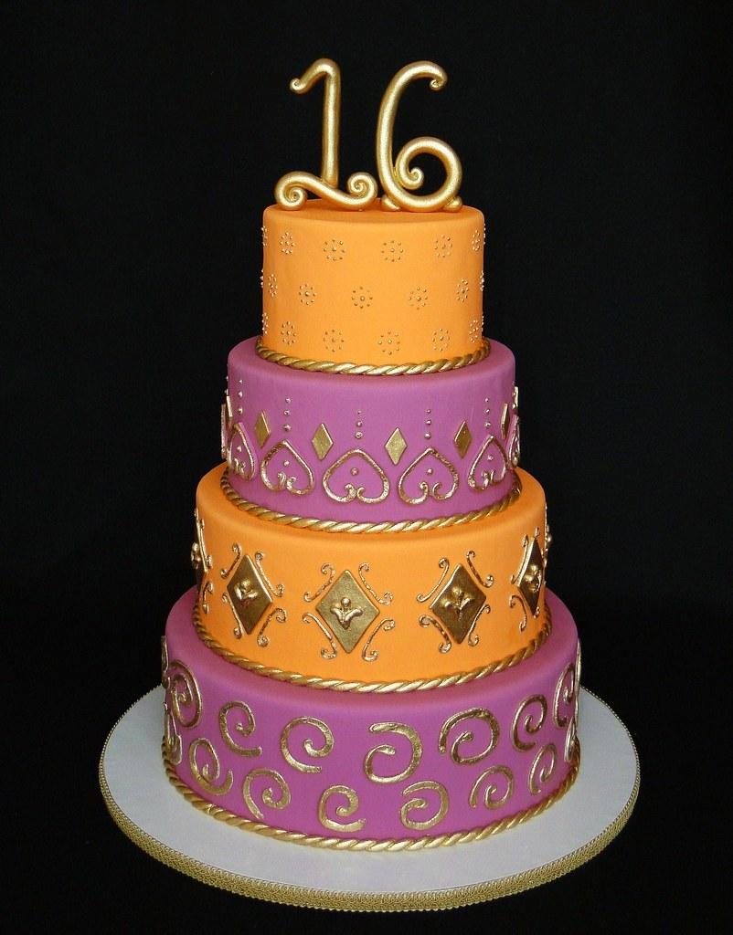 Bollywood Cake Cakesbyelisa Flickr