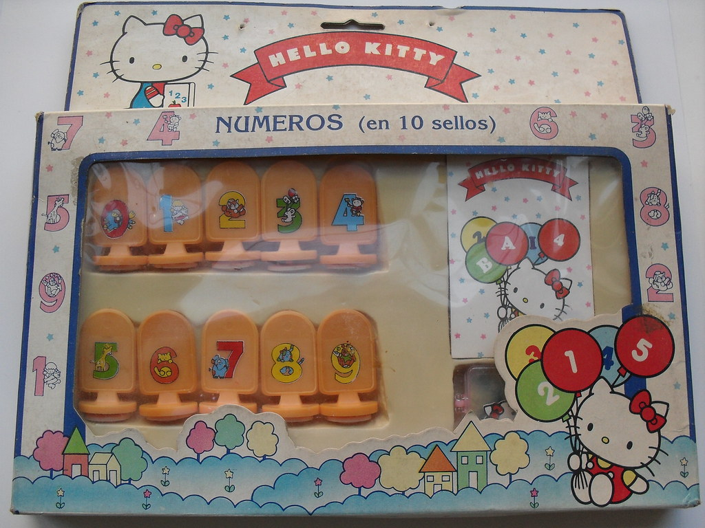 Hello Kitty Learning Stamp Set