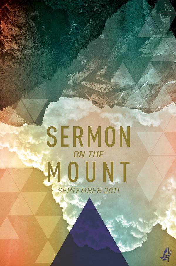 Sermon on the Mount series poster design | 24x36 poster ...