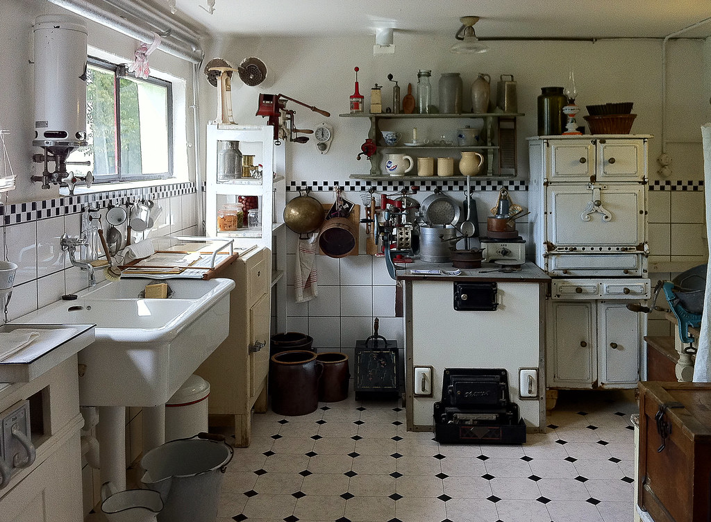 Otto Haesler His Private Luxury Kitchen Around 1930 Flickr