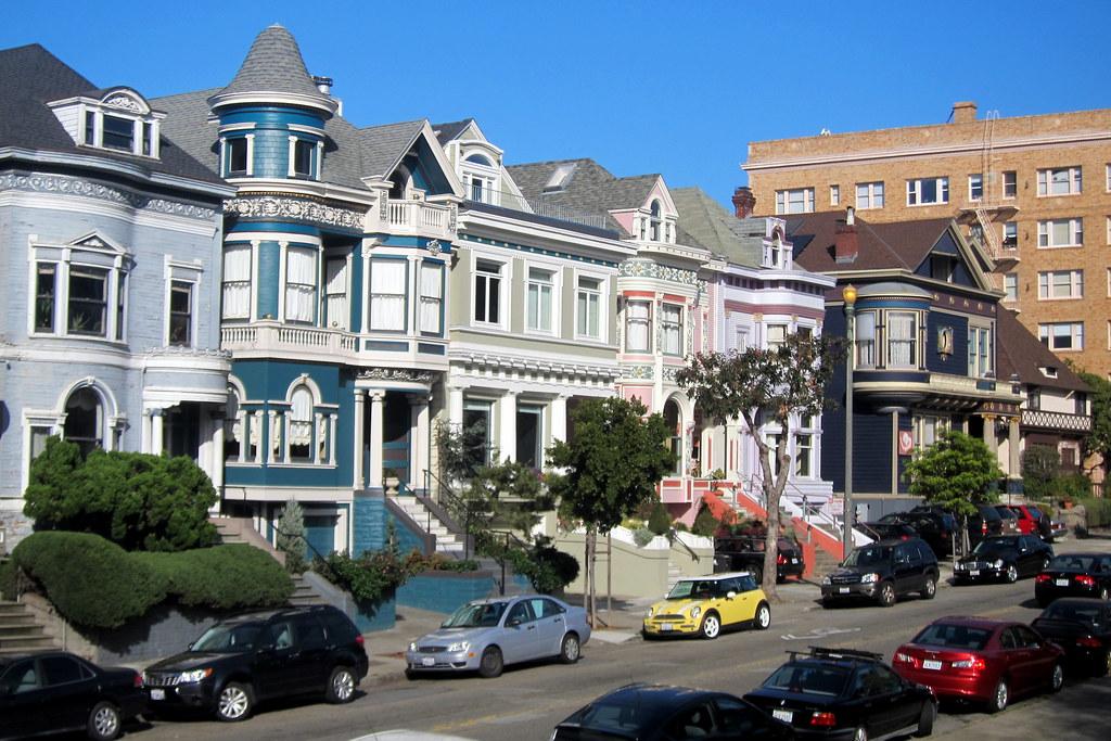 San Francisco Western Addition Alamo Square Historic Di