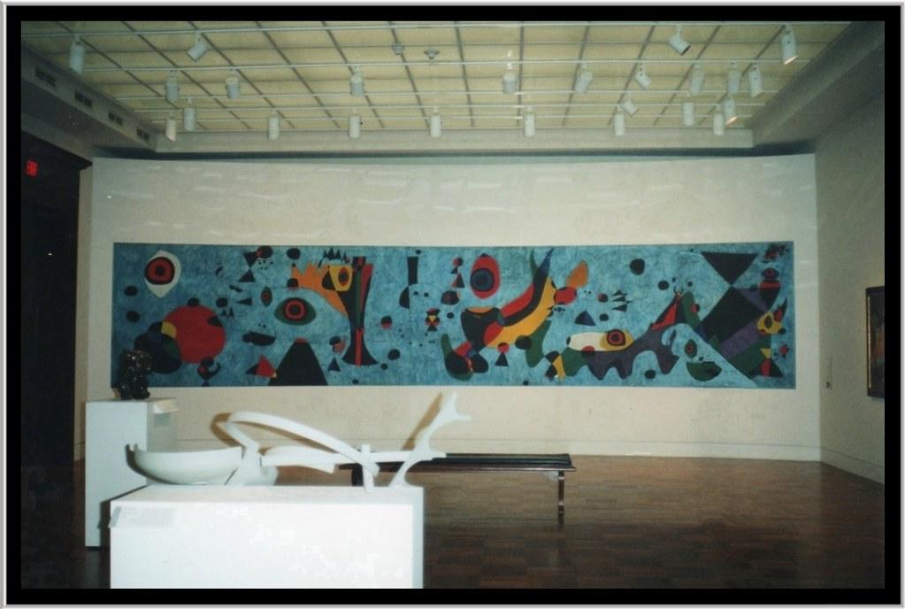 Joan Mir 243 Mural Terrace Plaza Hotel Cincinnati Art Mus Flickr