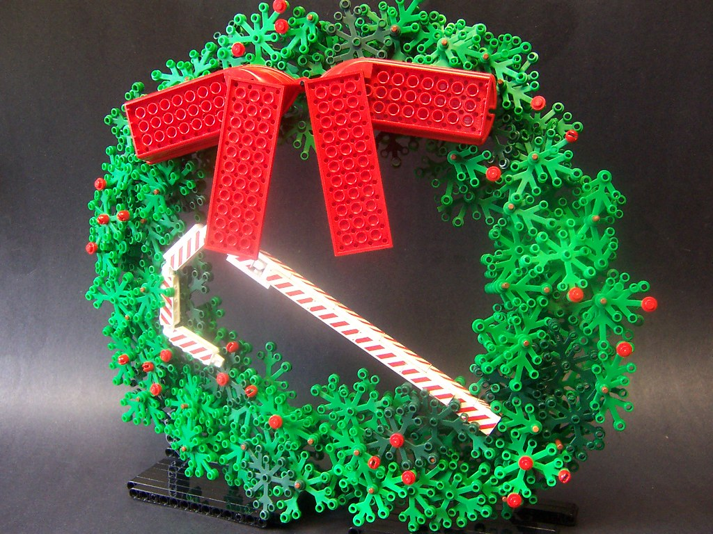 Lego Wreath I Seen This Done Beforebut Not This Big