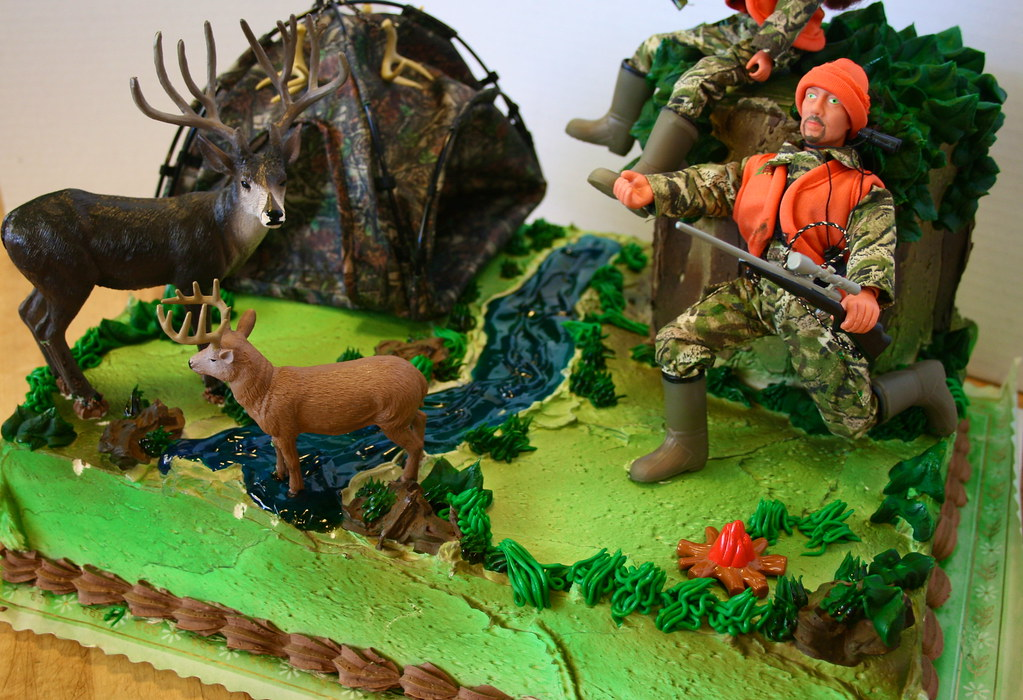 Hunting Theme Cake Marisa Hess Flickr