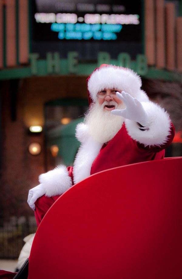 Santa BOB | The headline attraction in the 2011 Grand ...