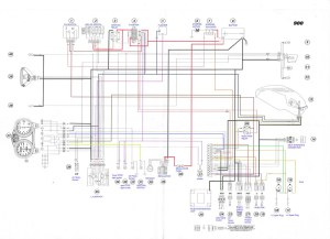 200001 Ducati Monster 900 ie Electrical wiring Diagram | Flickr