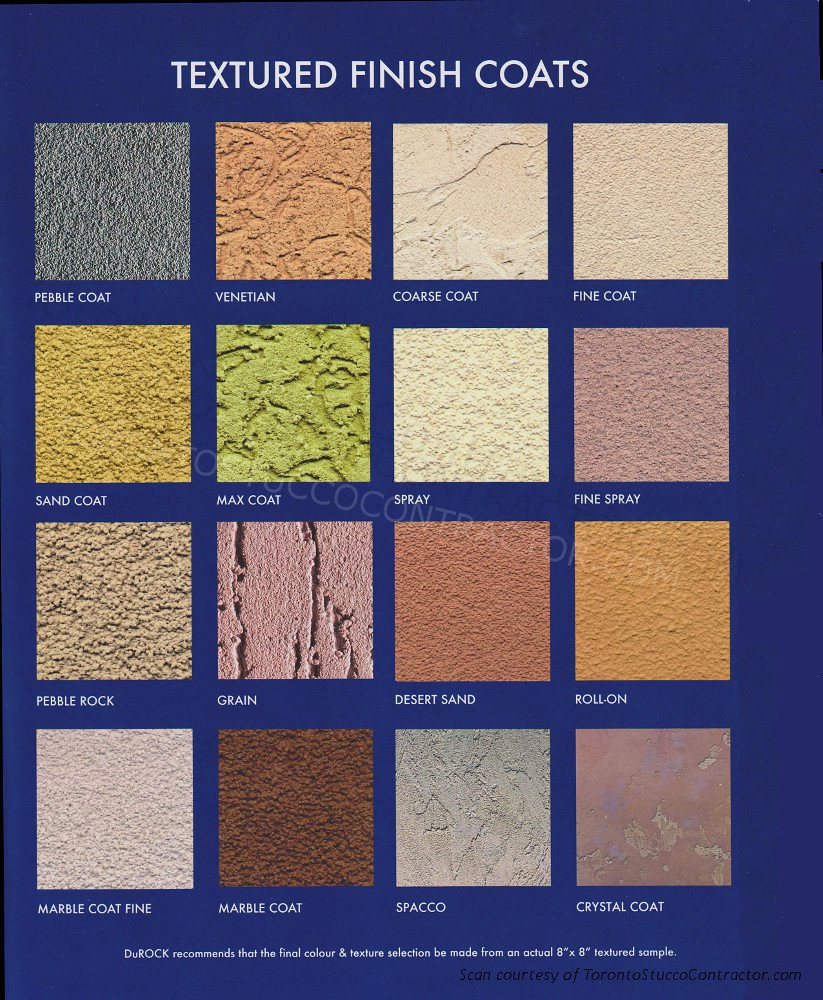 Durock Stucco Eifs Textures Durock Offers A Variety Of