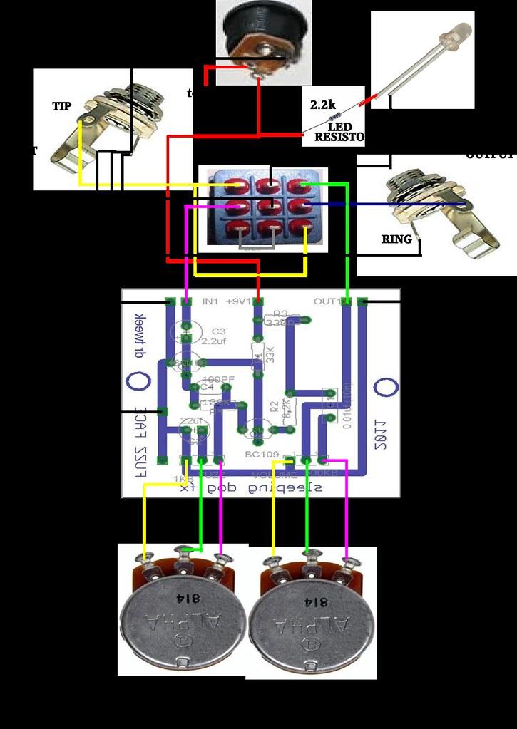 Doctor Tweek Fuzz Face V2 Wiring Diagram