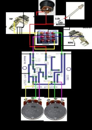 Doctor Tweek Fuzz Face V2 Wiring Diagram   Off board