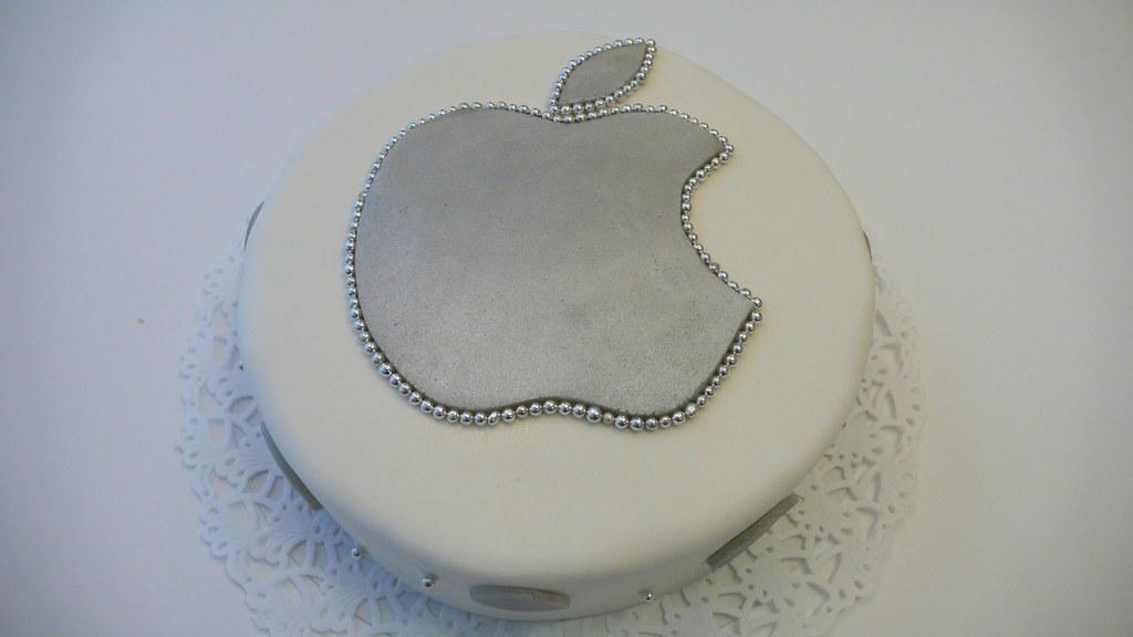 Apple Logo Cake Apple Logo Birthday Cake Www