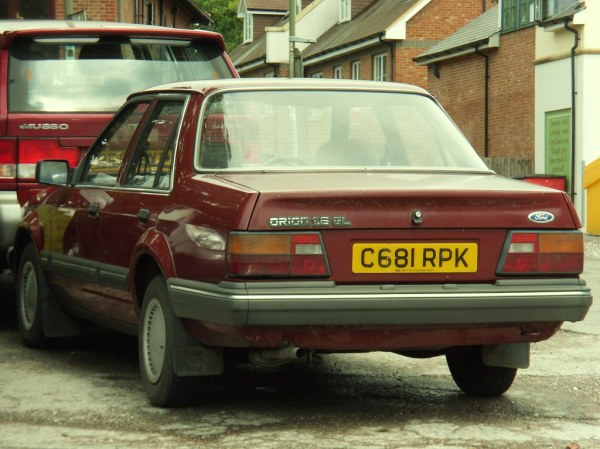 1985 Ford Orion 1.6 GL Automatic Saloon. | The only 1985 ...