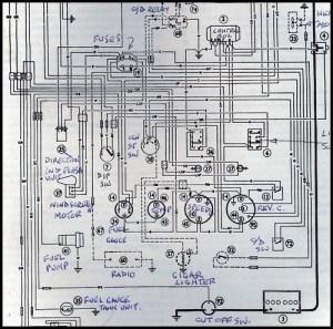 1966 Austin Healey 3000 wiring | A little understanding