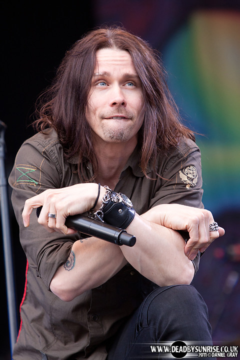Myles Kennedy High Voltage 2011 Slash W Myles Kennedy