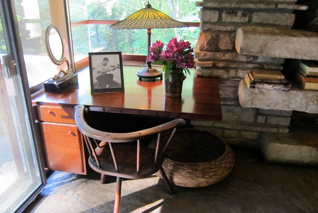 PA Mill Run Fallingwater Master Bedroom Desk A Tiffany Flickr