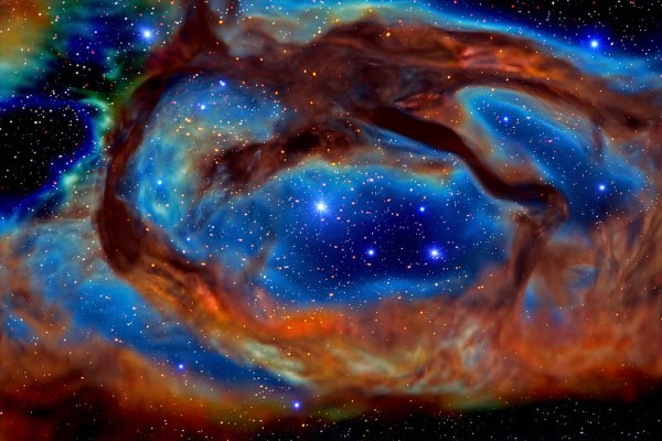 Deep Space 50 - Dragon Nebula (AKA Chinatown Roast Duck Fl ...