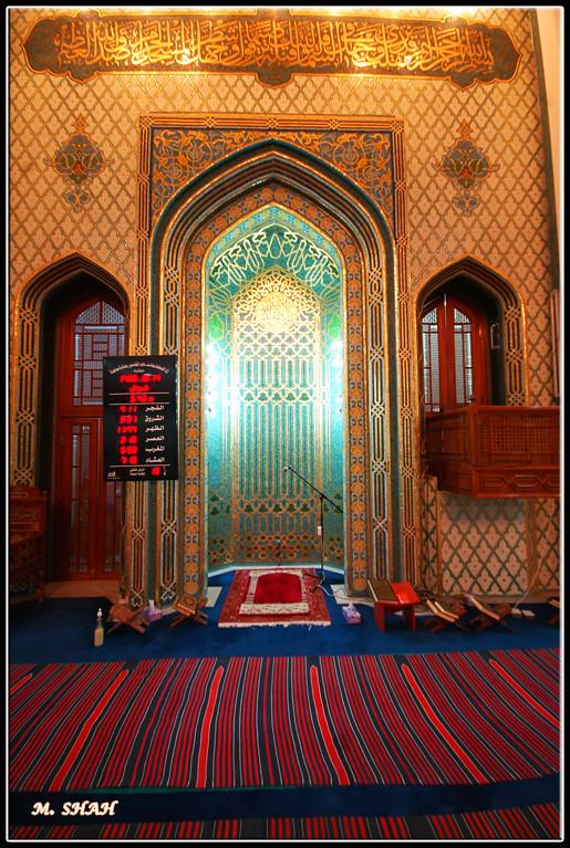 Mihrab Lulwa Mosque محراب مسجد لولوة Mihrab Is The