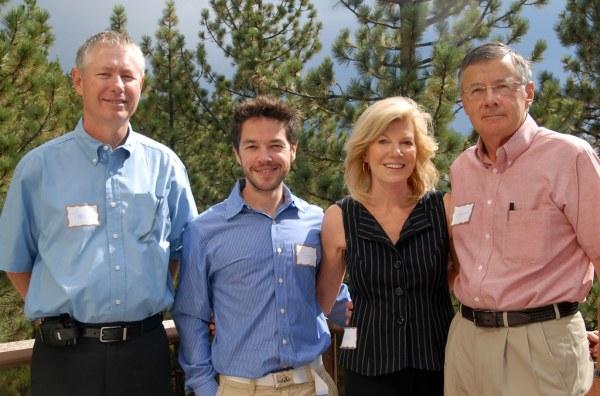 Tim Young, Sean Shepherd, and Sara and Leonard Lafrance ...