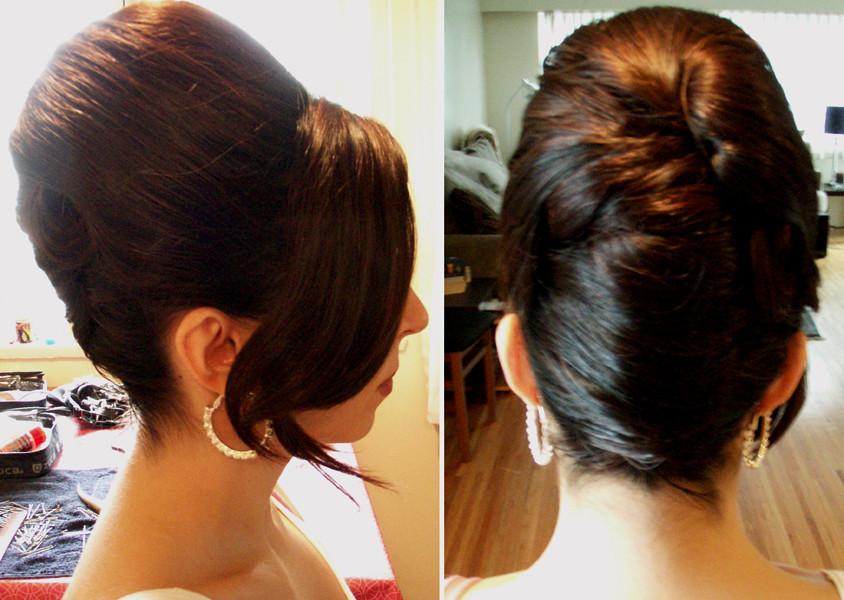 Beehive Wedding Hairstyle Victoria Flickr