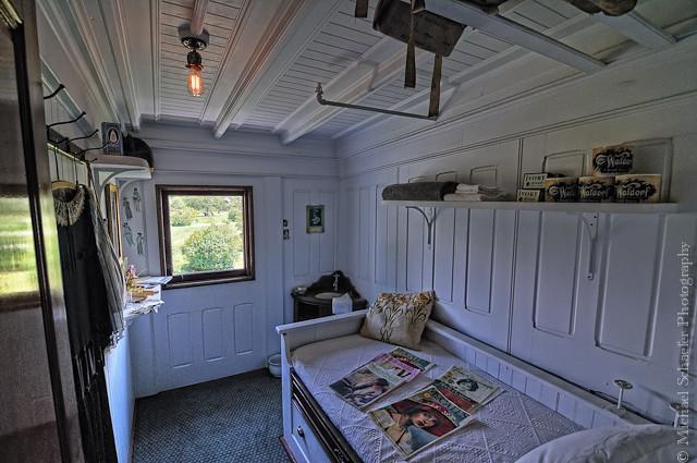Cabin On The Steamboat Ticonderoga Shelburne Museum VT