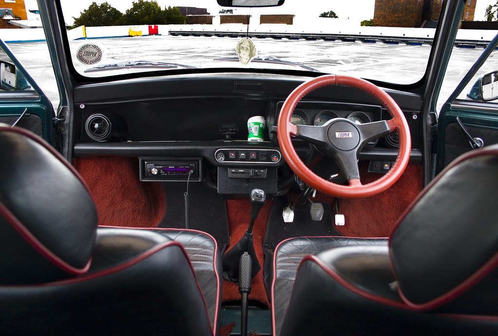 Mini Cooper RSP Interior Louis Walpole Flickr