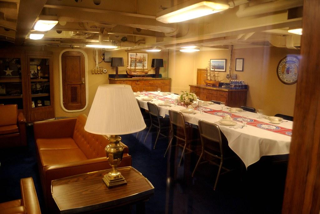 Uss Missouri Captain S Cabin Daniel Ramirez Flickr