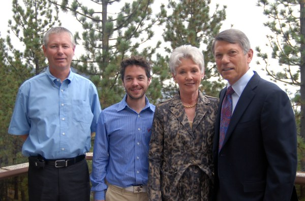 Tim Young, Sean Shepherd and Nancy and Brian Kennedy.   Flickr