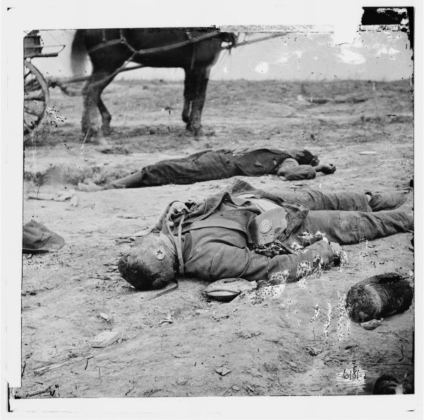 Civil War dead - posed photo | I'm using this image as a ...