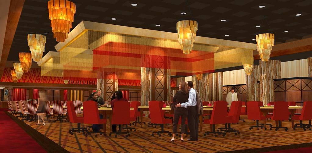 Interior Casino Design Casino Interior Rendering Conce
