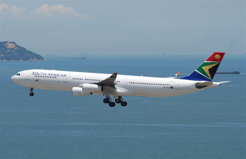 Bildresultat för south african airways airbus