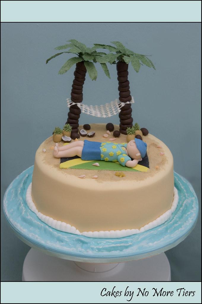 Desert IslandJamaica Themed Cake Desert Island Themed