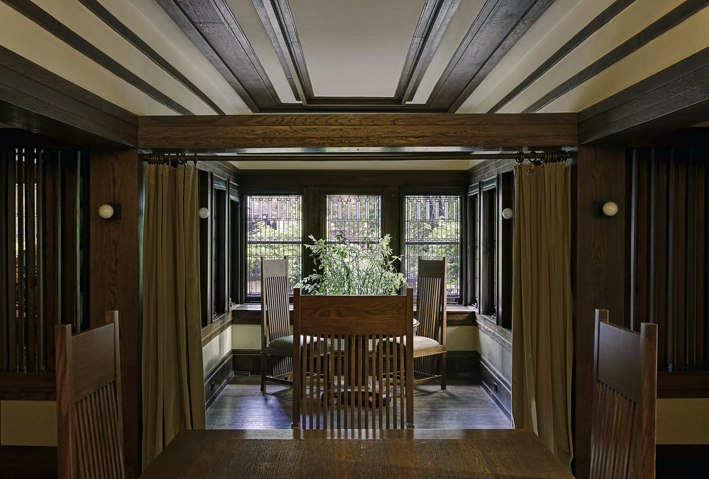 Fricke House Dining Room Wrights Fricke House Is 1 Of 3