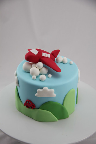 Up Up And Away This Was A Last Minute Display Cake I