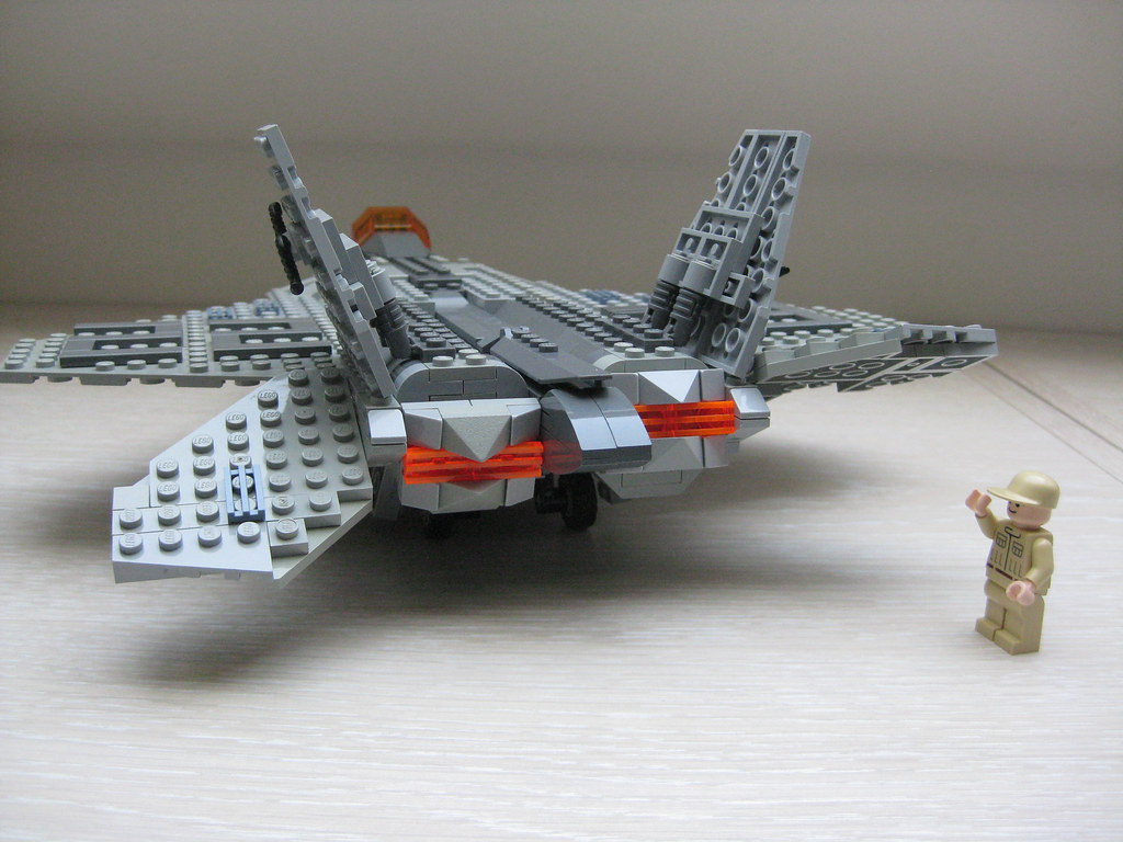 lego F 22 raptor final  8    F 22 is the ultimate fighter bu      Flickr     lego F 22 raptor final  8    by kingtiger719