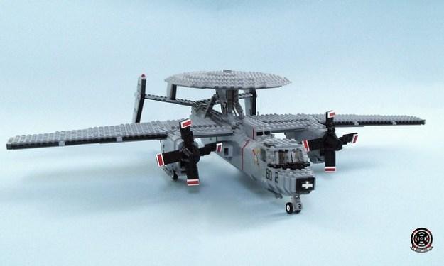 E-2C Hawkeye of VAW-124 Bear Aces