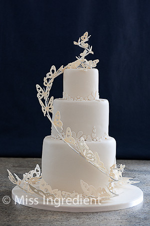 Butterfly Wedding Cake   Debbie Brown Design www miss ingred      Flickr     Butterfly Wedding Cake   by Miss Ingredient