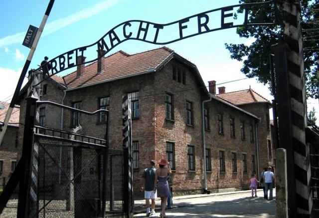 Visitar Auschwitz con niños