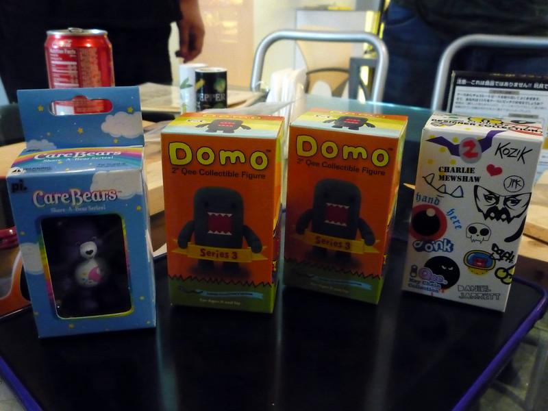 Domo-kun, Care Bears, Qee Designer