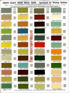 Seroco House Paint 1910 Bungalow Paint Colors Color