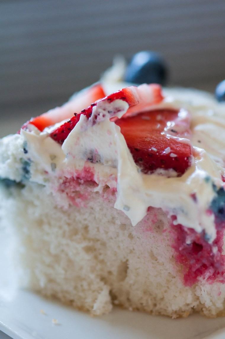 4th of July Poke Cake 9